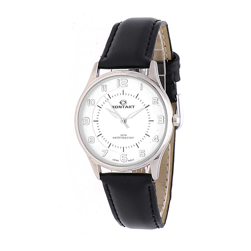 MPM Elegantní unisex hodinky s koženým antialergickým řemínkem W03I.11127.A