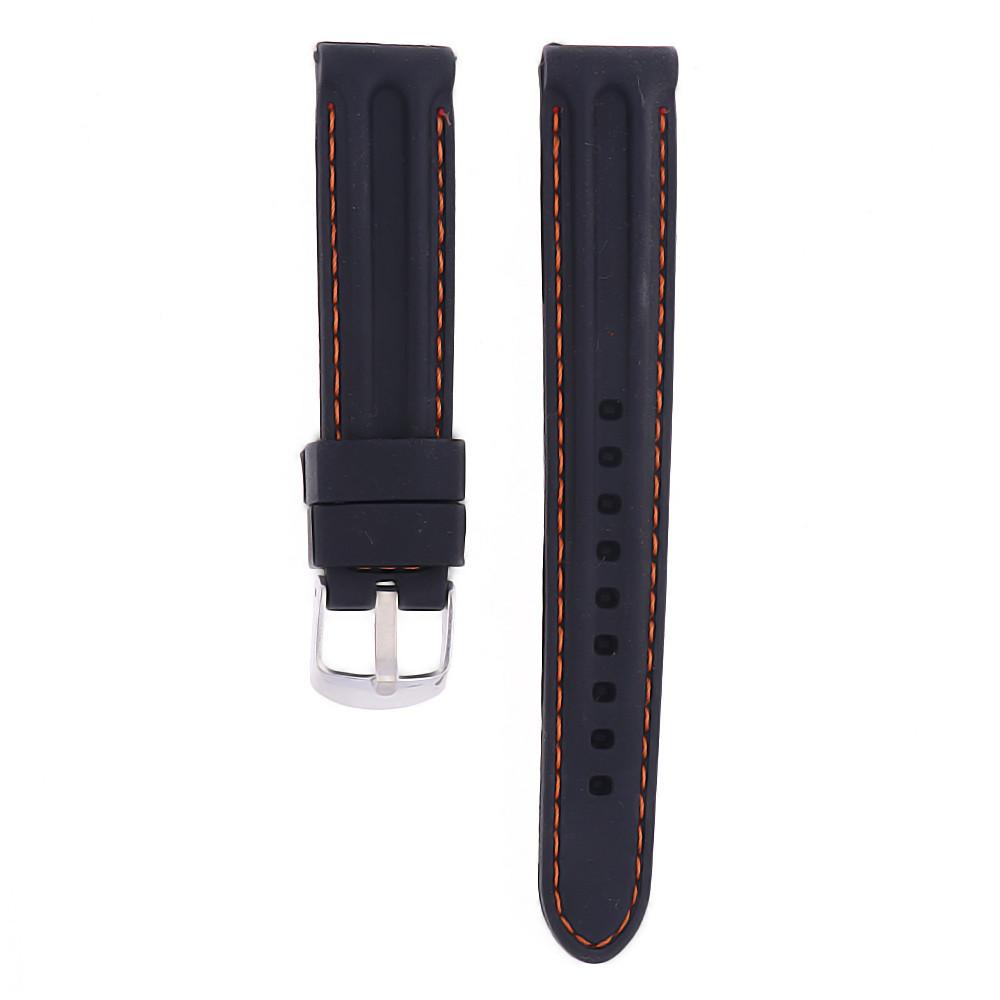 MPM Gumový řemínek na hodinky MPM RJ.15639.18.9060.A.S.L