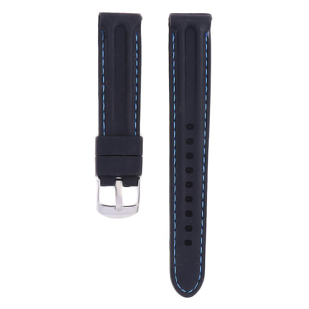 MPM Gumový řemínek na hodinky MPM RJ.15639.18.9031.A.S.L