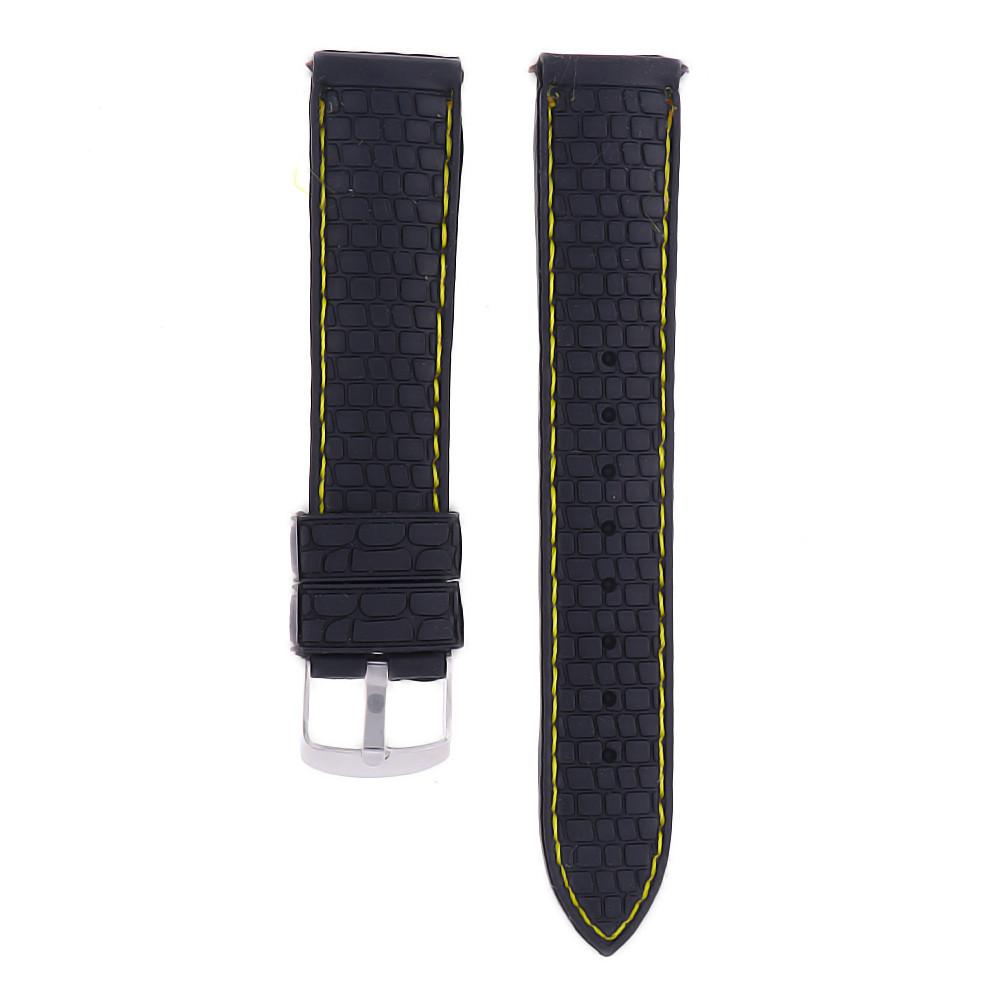 MPM Gumový řemínek na hodinky MPM RJ.15641.20.9010.A.S.L
