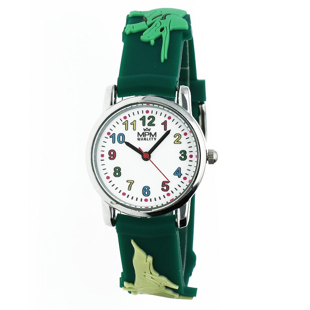 MPM Dětské náramkové hodinky MPM Kids Dinosaurus 11289.A