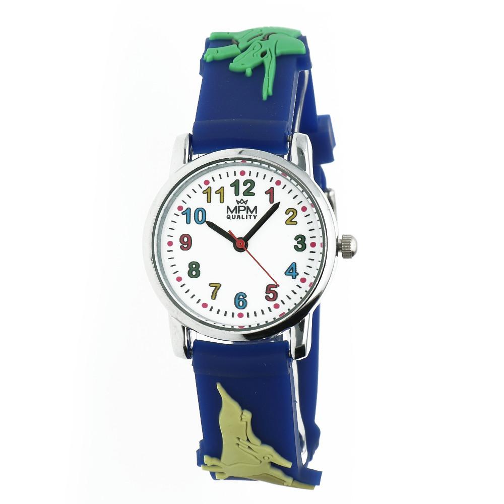 MPM Dětské náramkové hodinky MPM Kids Dinosaurus 11289.C