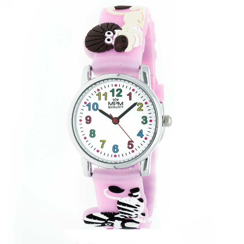 MPM Dětské náramkové hodinky MPM Kids Animals 11289.D