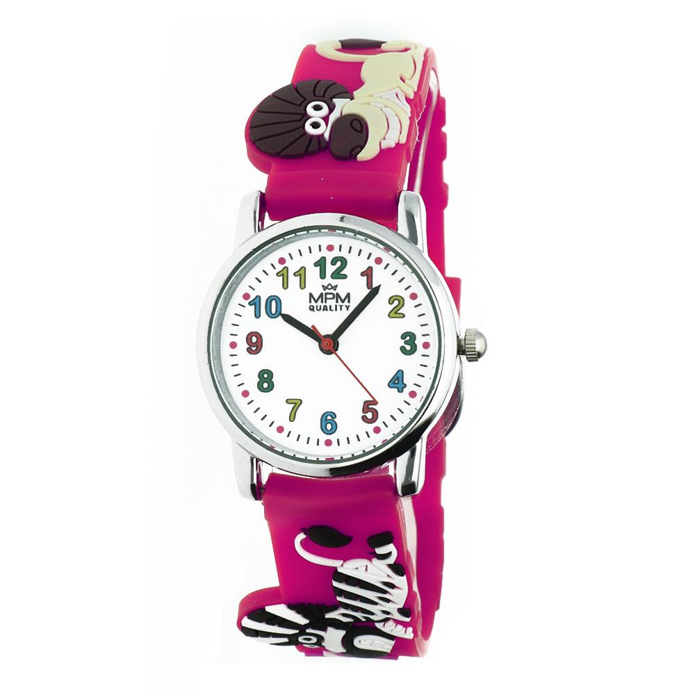 MPM Dětské náramkové hodinky MPM Kids Animals 11289.E