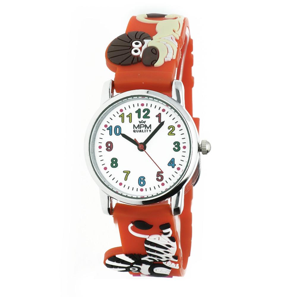MPM Dětské náramkové hodinky MPM Kids Animals 11289.F