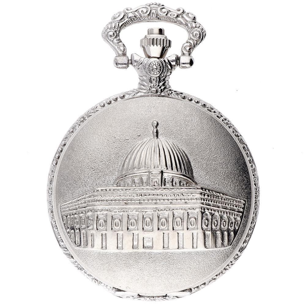 MPM Stříbrné kapesní hodinky MPM W04V.11157.E