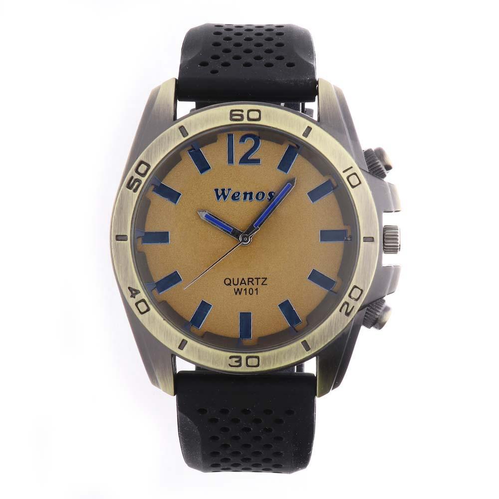 MPM Pánské hodinky na gumovém pásku W01V.10248.D