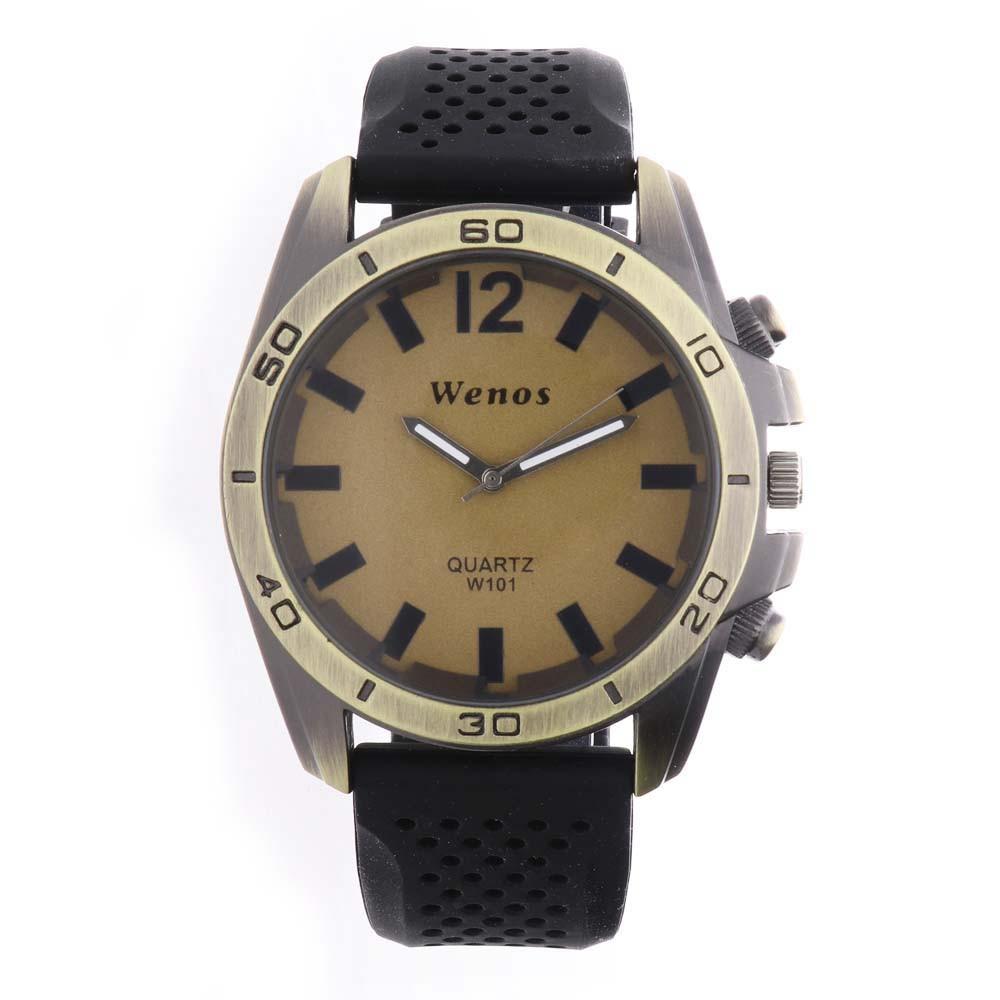 MPM Pánské hodinky na gumovém pásku W01V.10248.F