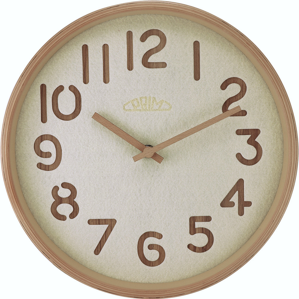 MPM Nástěnné hodiny PRIM Organic Soft - A E07.4093.5301