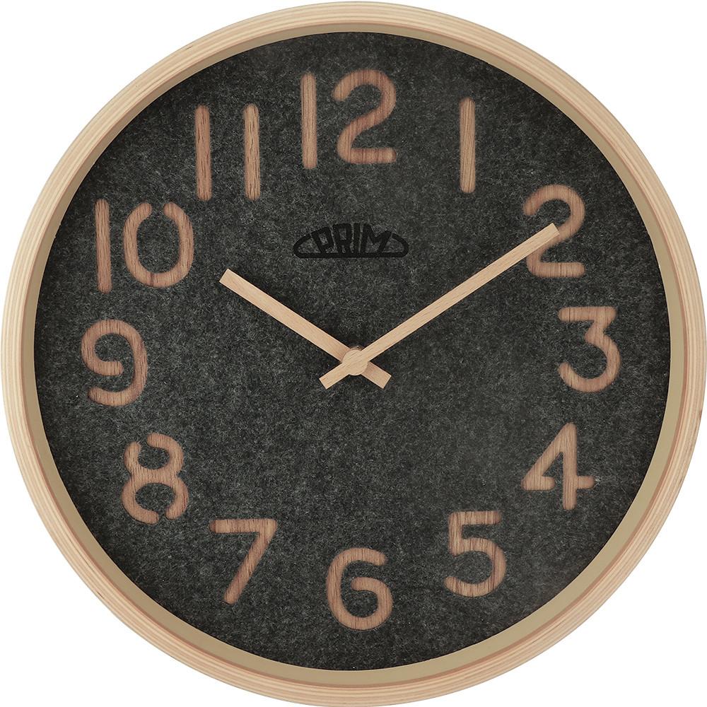 MPM Nástěnné hodiny PRIM Organic Soft - D E07.4093.5392