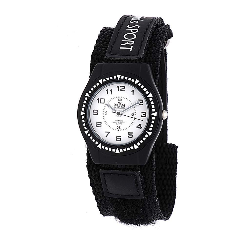 MPM Dětské hodinky na suchý zip MPM W05M.10313.A