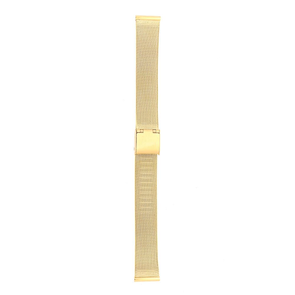 MPM Zlacené kovový řemínek na hodinky RA.13071.16 (16mm)