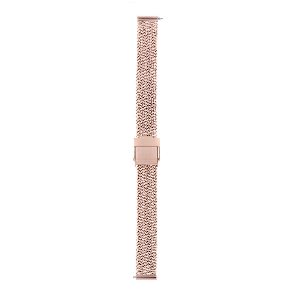 MPM Dámský kovový růžový řemínek na hodinky RA.13102.12 (12 mm)