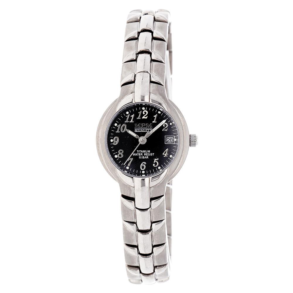 MPM Dámské titanové vodotěsné náramkové hodinky MPM W02M.10353.A
