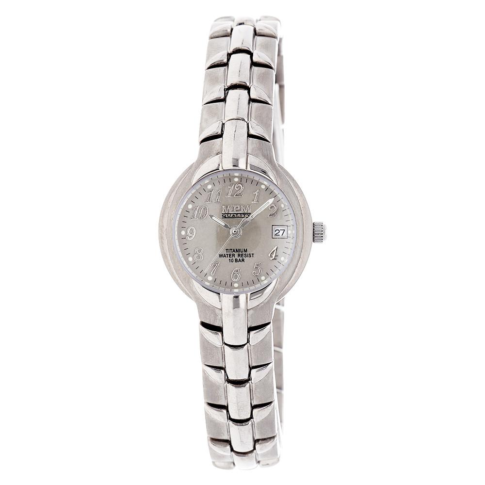 MPM Dámské titanové vodotěsné náramkové hodinky MPM W02M.10353.C