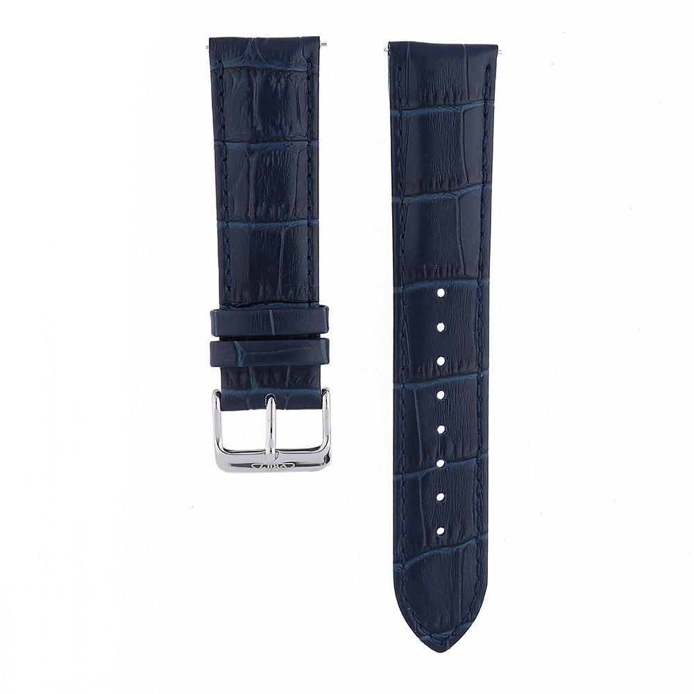 MPM Pánský kožený řemínek na hodinky RB.13155.22 (22 cm)