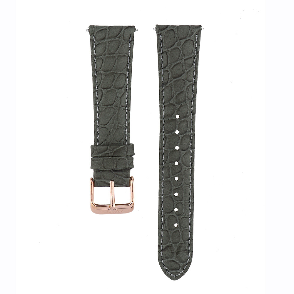MPM Černý řemínek na hodinky MPM RB.13154.20 (20 cm)