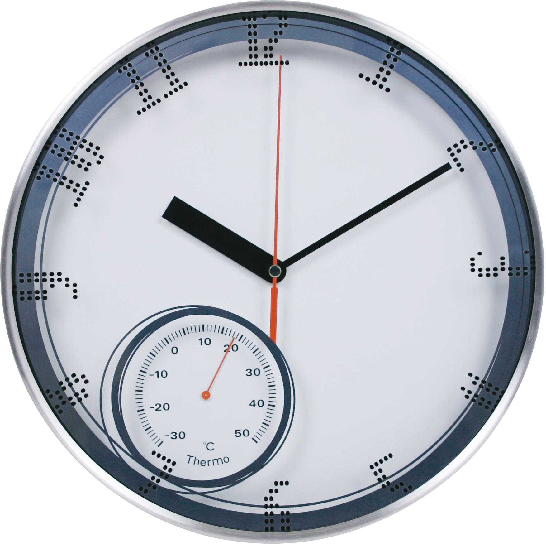 MPM KUlaté kovové nástěnné hodiny MPM E04.3083