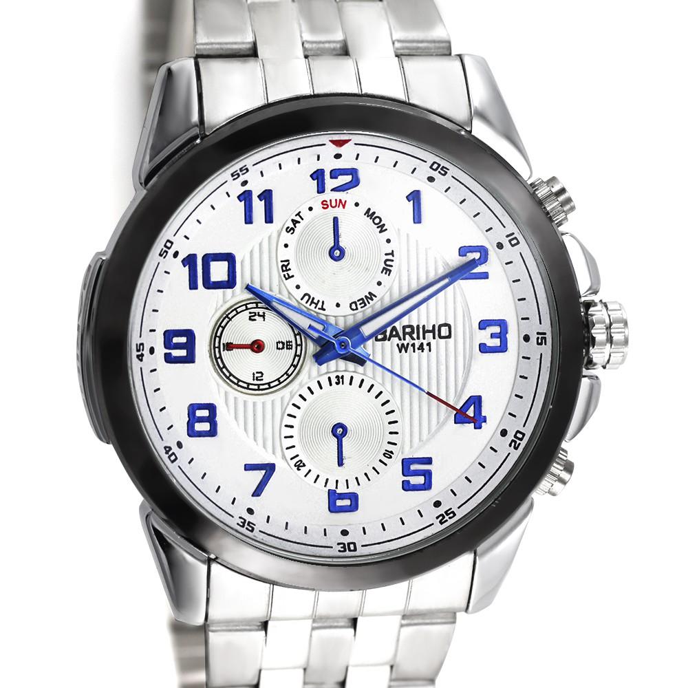 MPM Pánské náramkové hodinky MPM W01X.10777.A