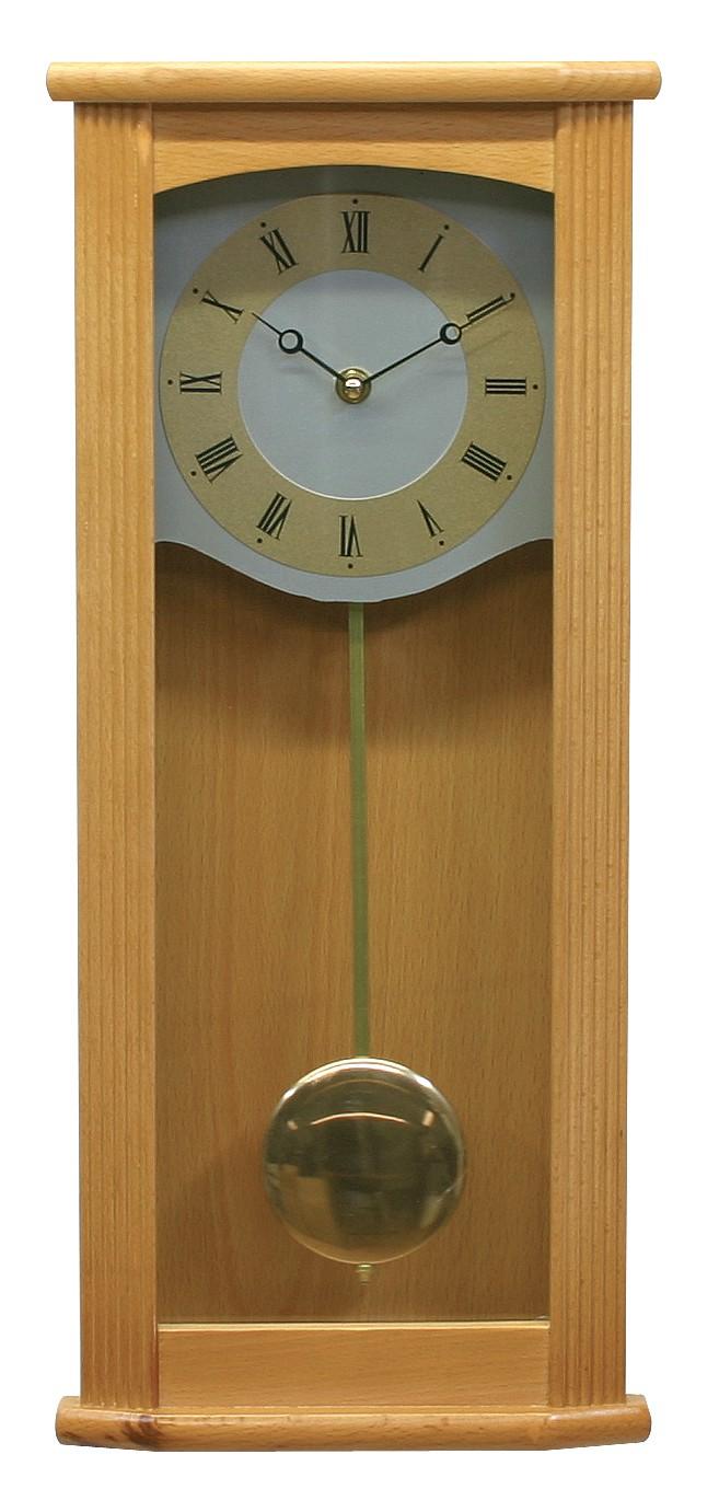 MPM Dřevěné kyvadlové hodiny MPM E01.2465.53