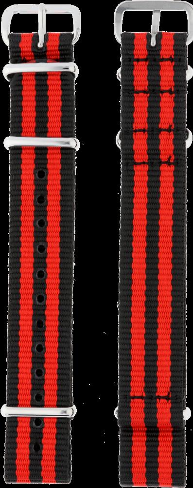 MPM Textilní řemínek na hodinky MPM RN.15816.18 (18 mm)