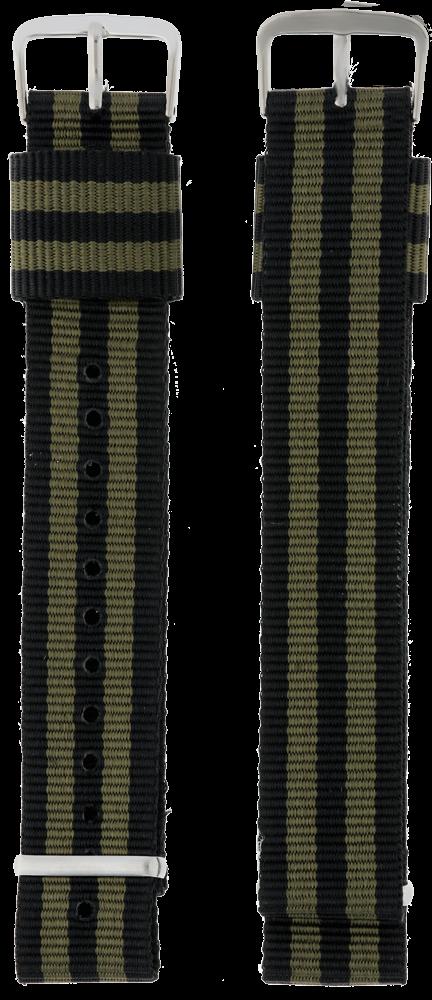 MPM Textilní řemínek na hodinky MPM RN.15816.20 (20 mm)