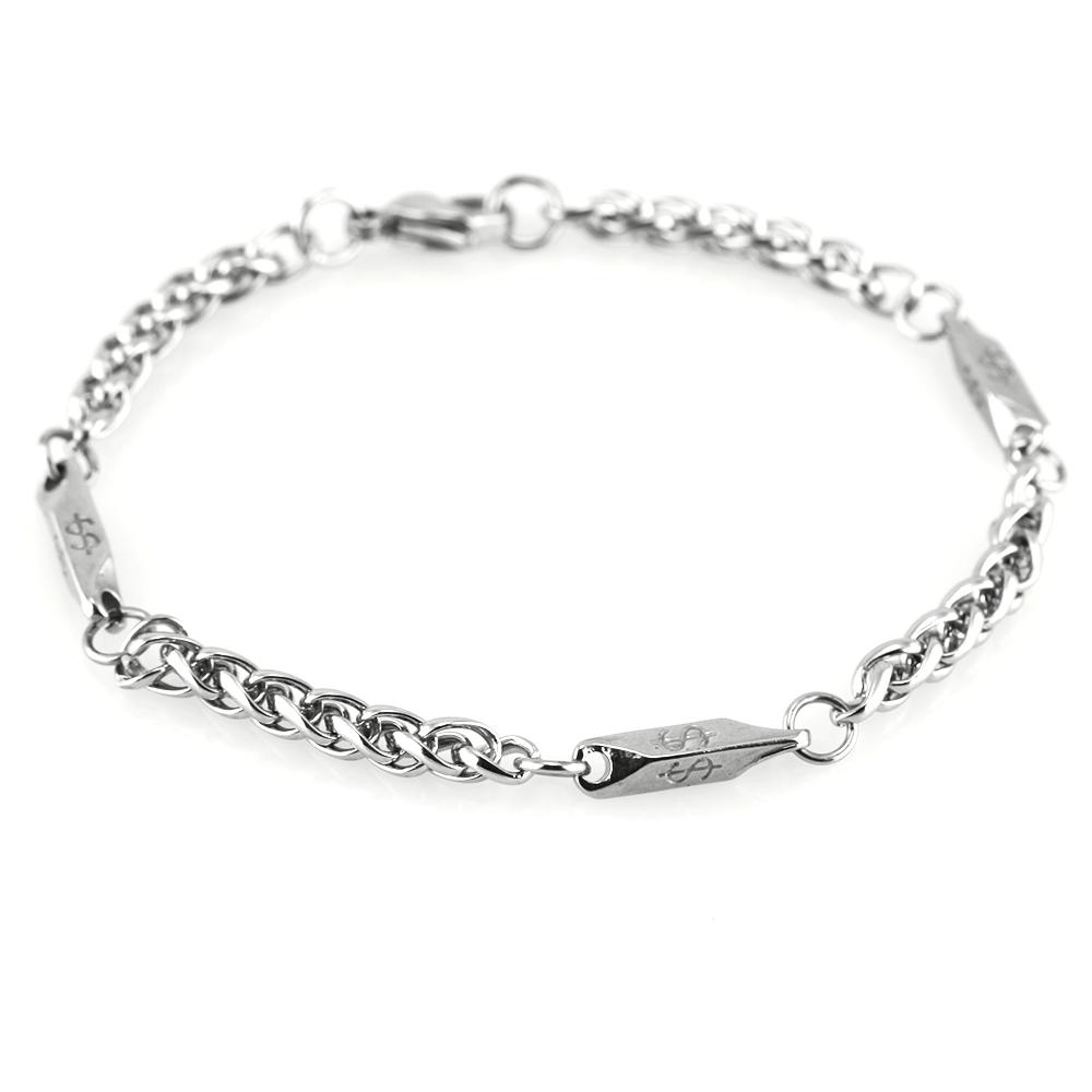 MPM Ocelový náramek z chirurgické oceli Bracelet 7368 - Silver