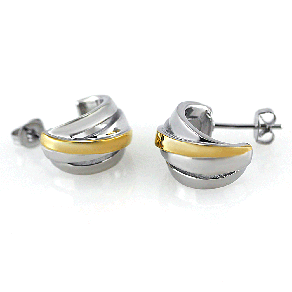 Earrings 7510 - Bicolor