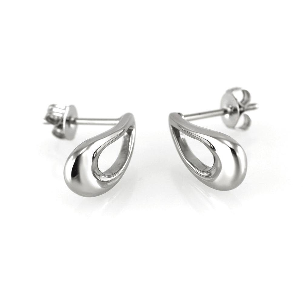 MPM Ocelové náušnice z chirurgické oceli Earrings 7511 - Silver