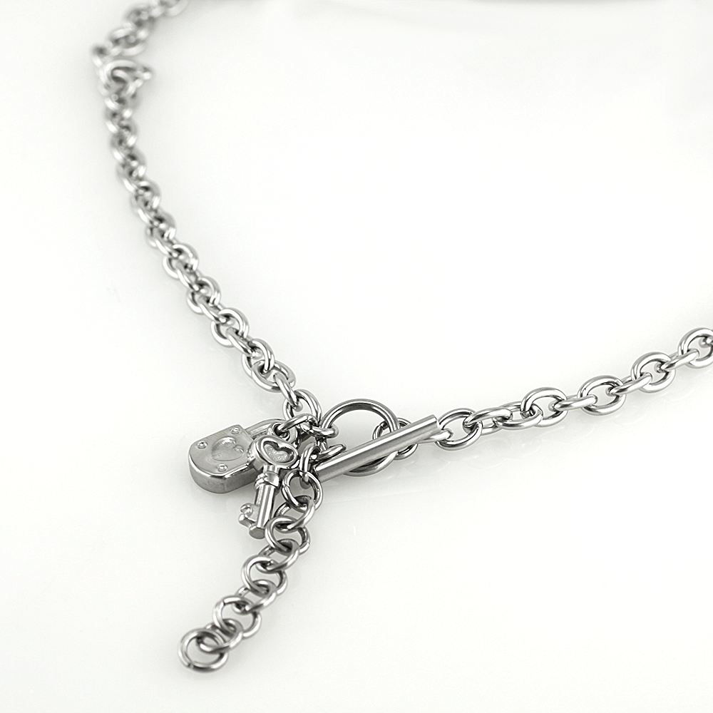 Necklace 7309 - Silver
