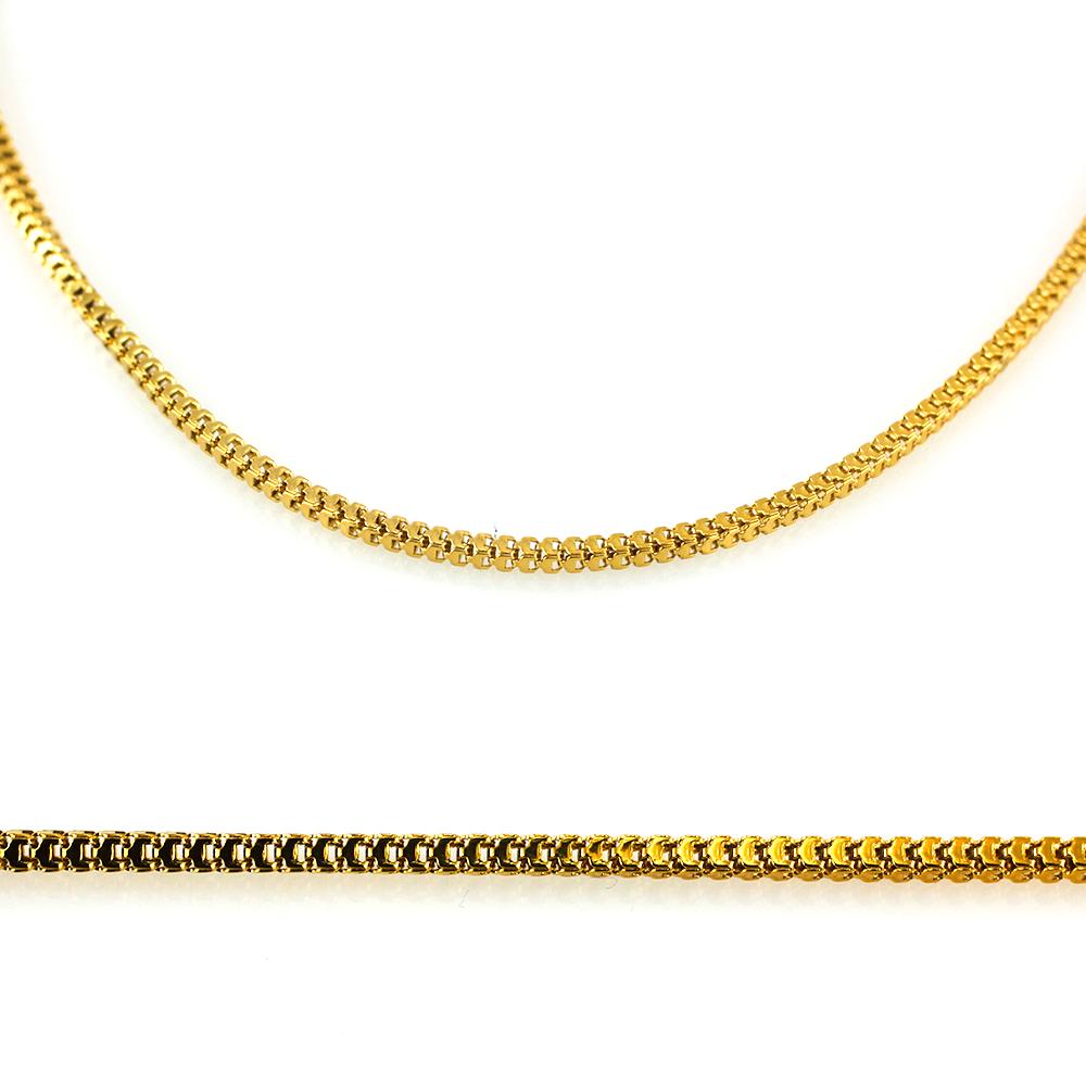 MPM Ocelový řetízek z chirurgické oceli Chain 7314 - Gold (50cm)