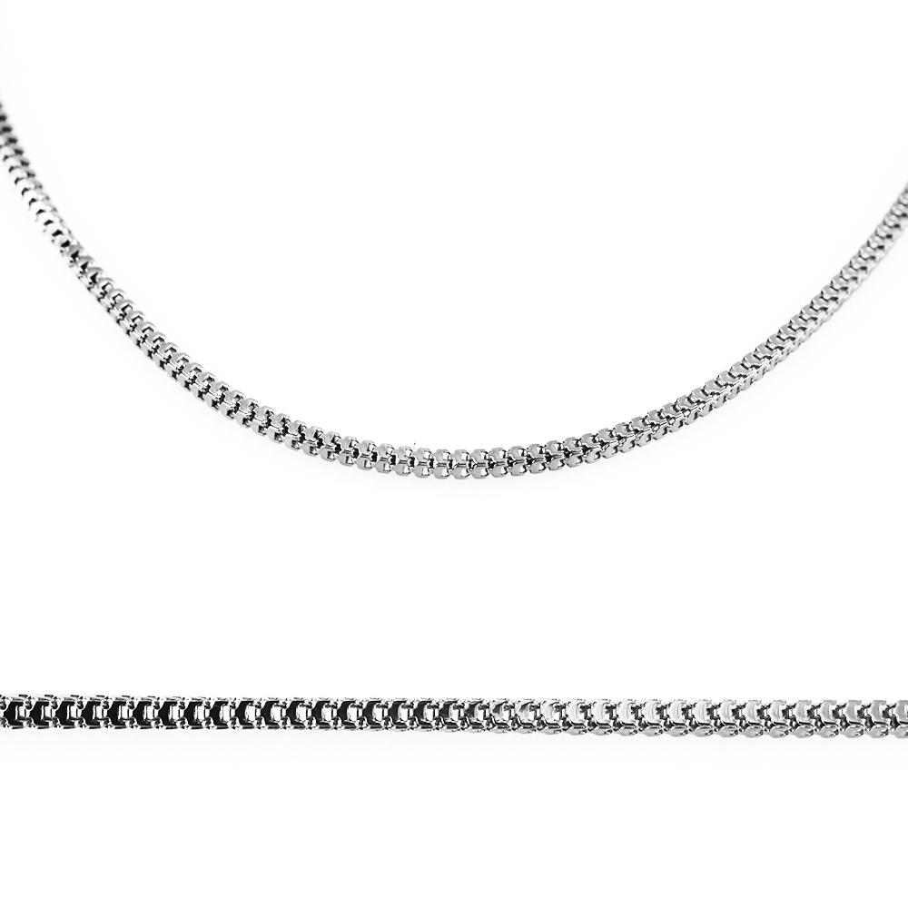 MPM Ocelový řetízek z chirurgické oceli Chain 7314 - SS Silver (42cm)
