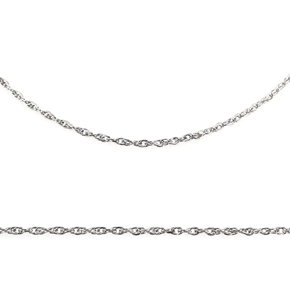MPM Ocelový řetízek z chirurgické oceli Chain 7319 - SS Silver (50cm)