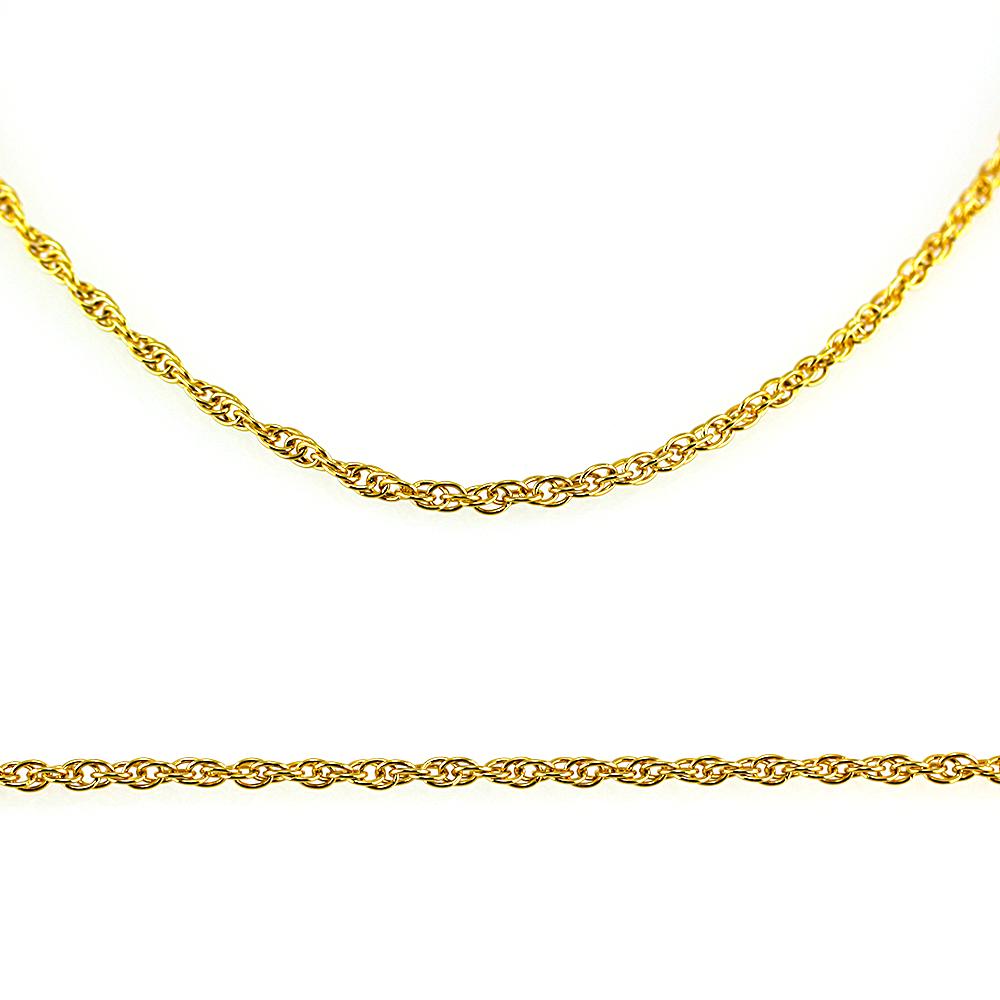 MPM Ocelový řetízek z chirurgické oceli Chain 7320 - Gold (45cm)