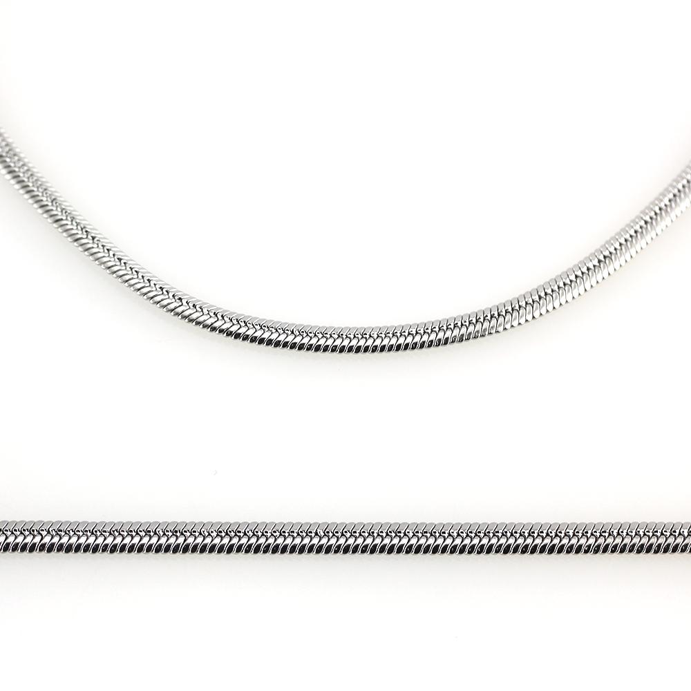 MPM Ocelový řetízek z chirurgické oceli Chain 7331 - Nerezová ocel (55cm)