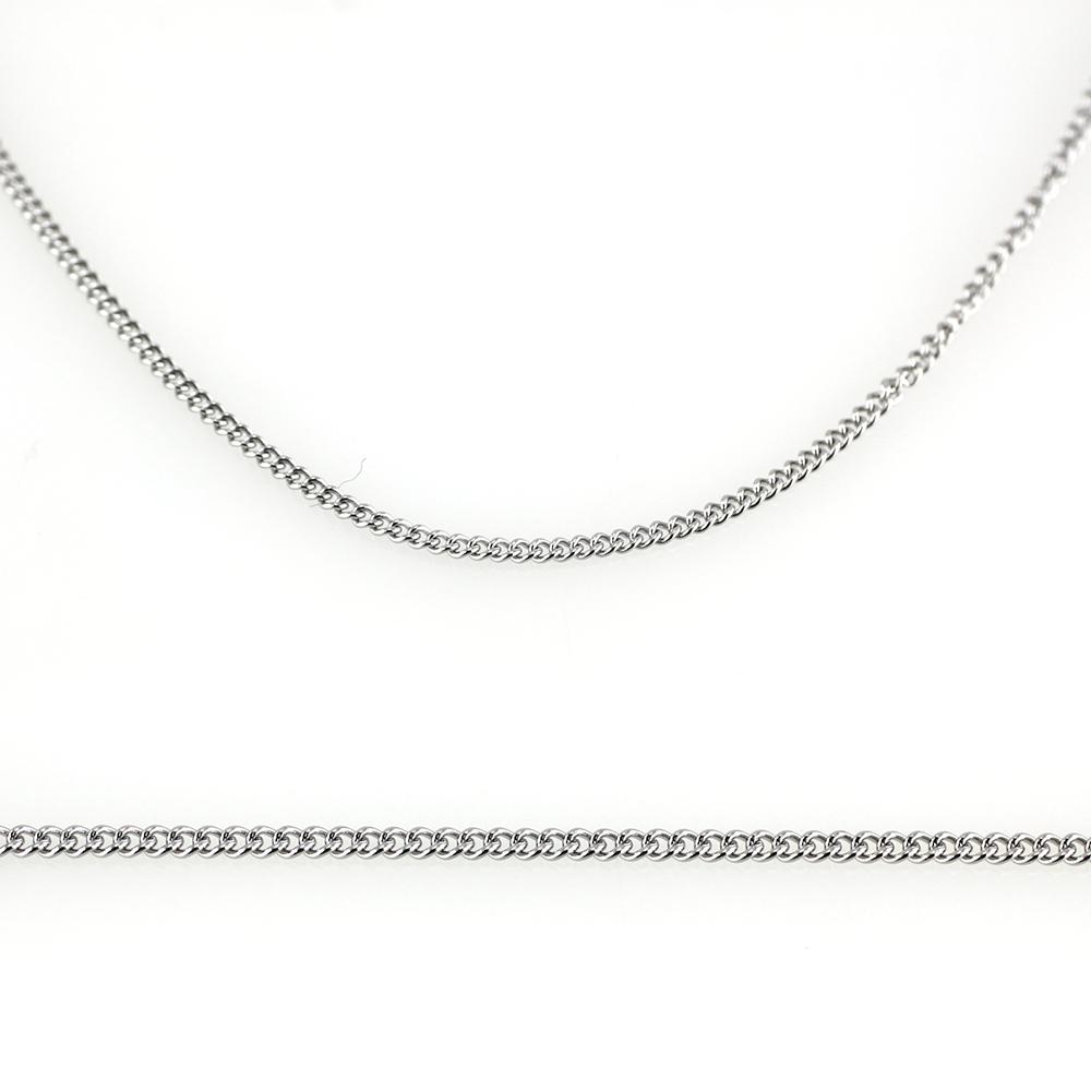 MPM Ocelový řetízek z chirurgické oceli Chain 7334 - SS Silver (45cm)