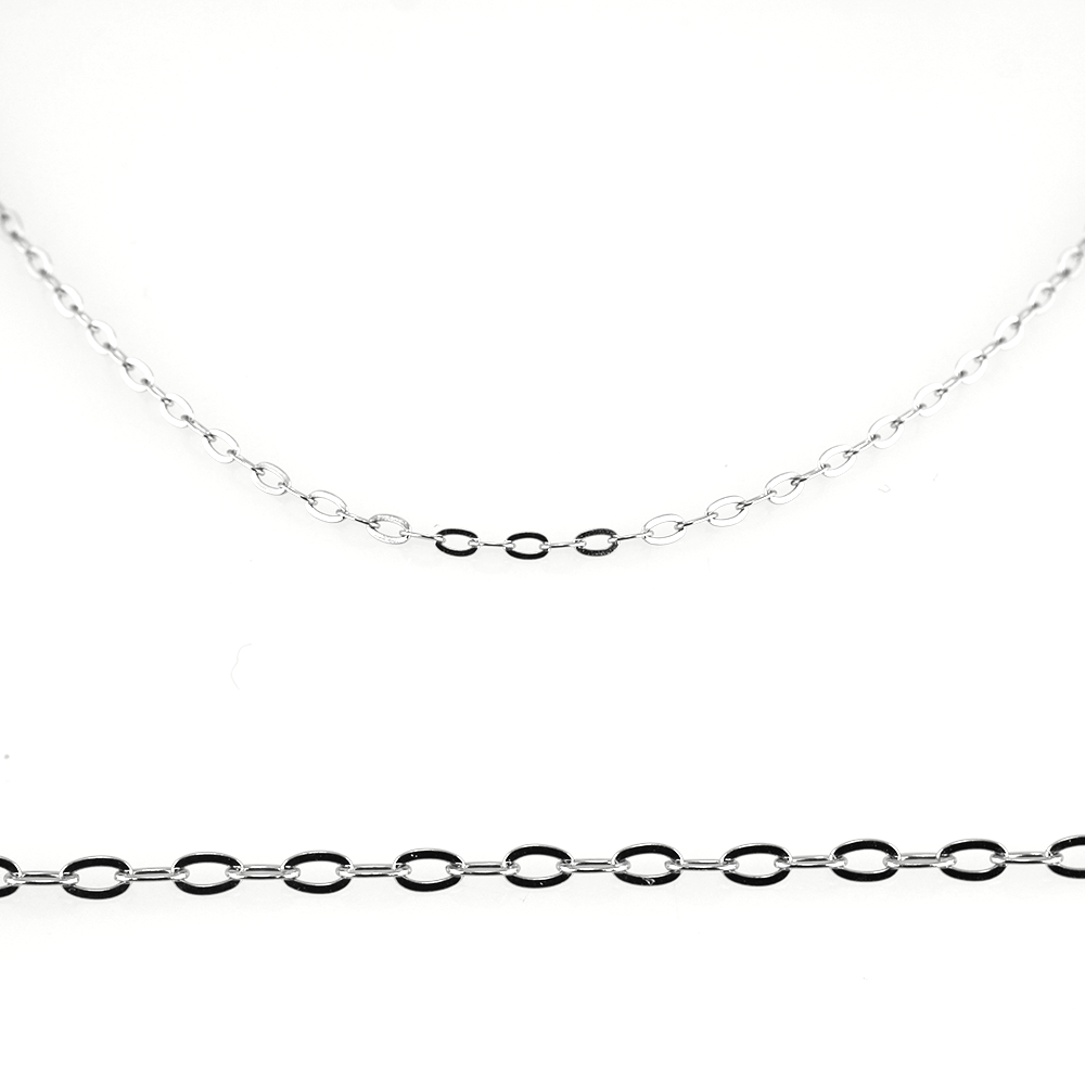 MPM Ocelový řetízek z chirurgické oceli Chain 7336 - Silver (55cm)