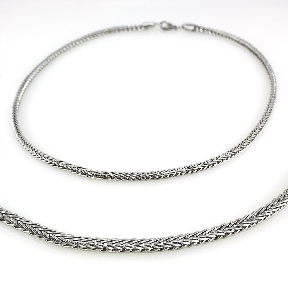 MPM Ocelový řetízek z chirurgické oceli Chain 7340 - SS Silver (50cm) SNE.7340