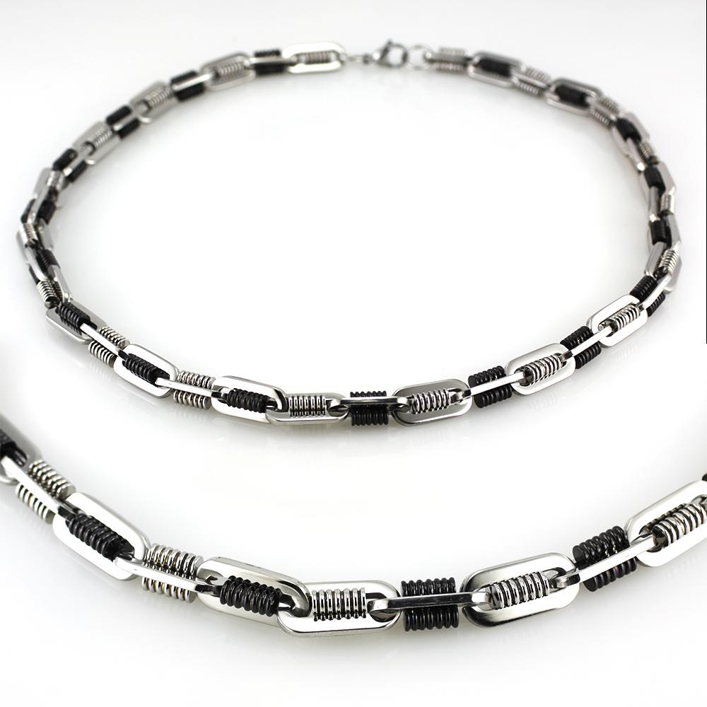 MPM Ocelový řetízek z chirurgické oceli Chain 7345 - SS Silver (55cm)
