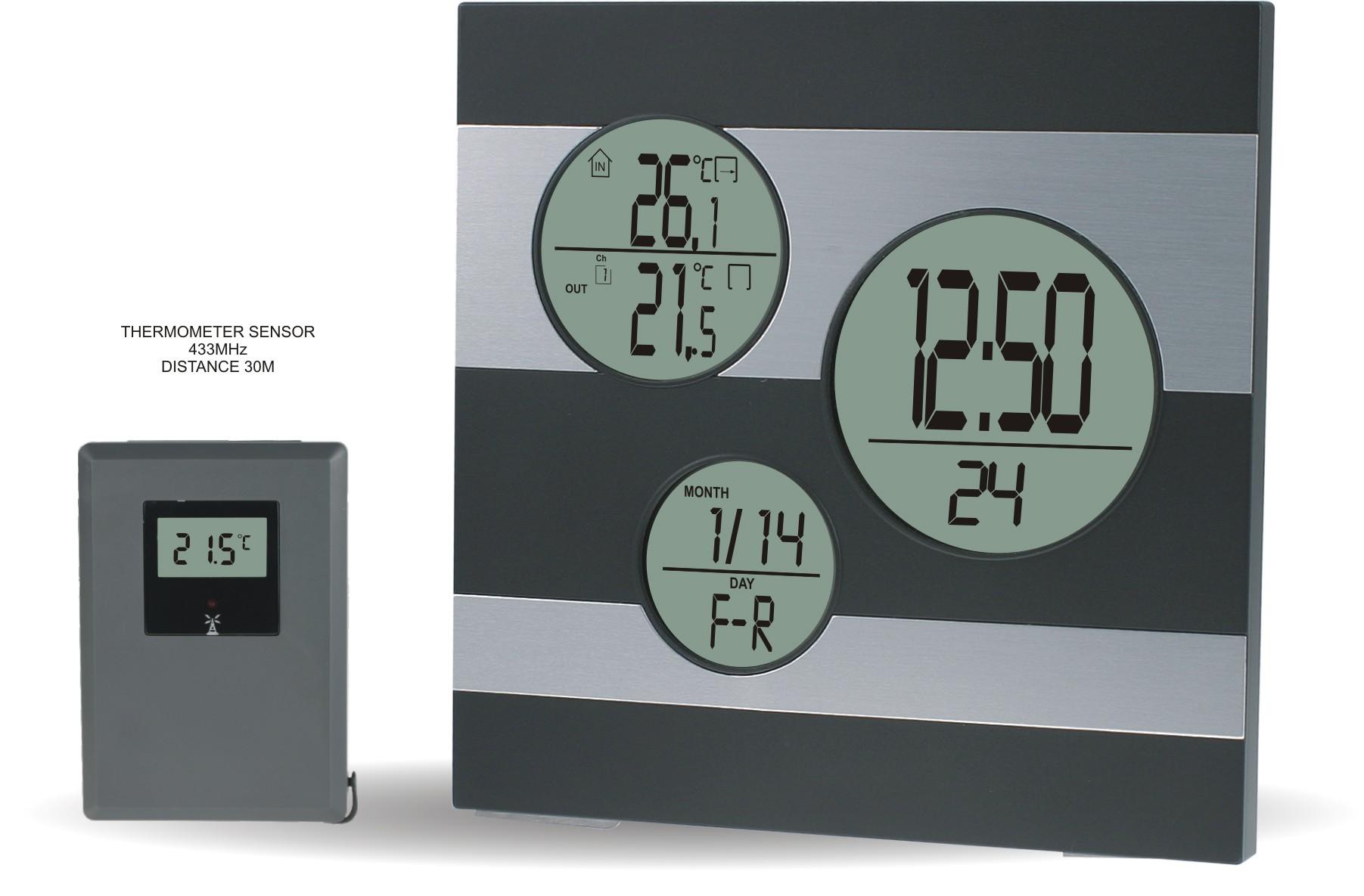 MPM Moderní digitální meteostanice s teplotním senzorem C02.2577