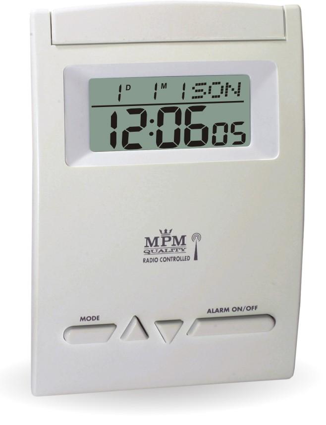MPM Rádiem řízený budík s digitálním displejem C02.2765