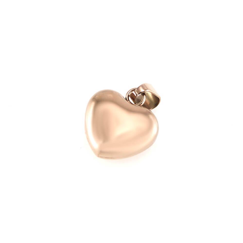 MPM Přívěsek z chirurgické oceli Pendant 7536 - Rose Gold - Heart