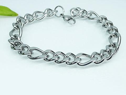 MPM Ocelový náramek z chirurgické oceli Bracelet 6840 - Silver