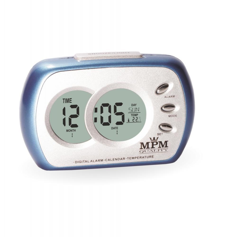 MPM Modrý digitální budík MPM C02.2745