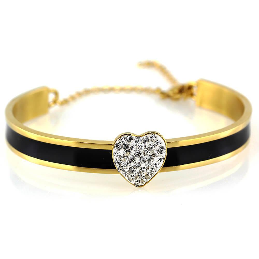 MPM Ocelový náramek z chirurgické oceli Bracelet 7568 - Gold