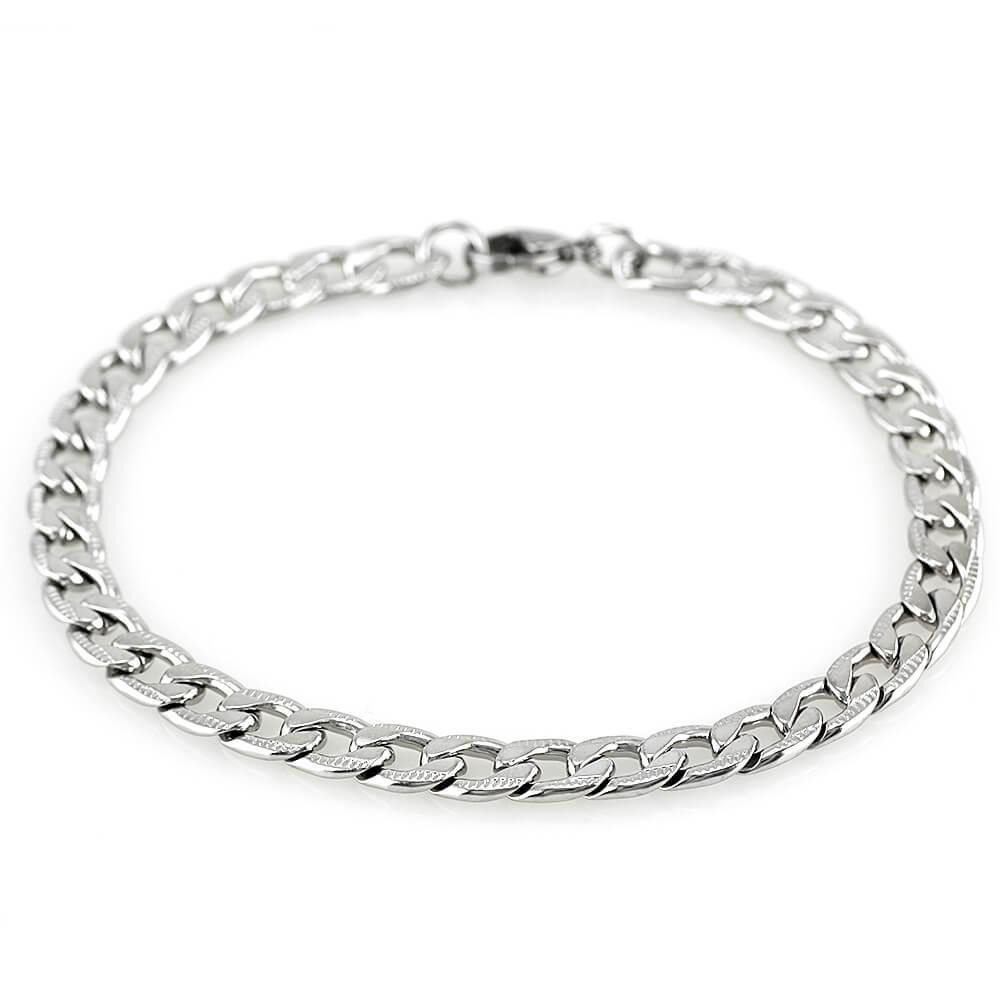 MPM Ocelový náramek z chirurgické oceli Bracelet 7599 - Silver