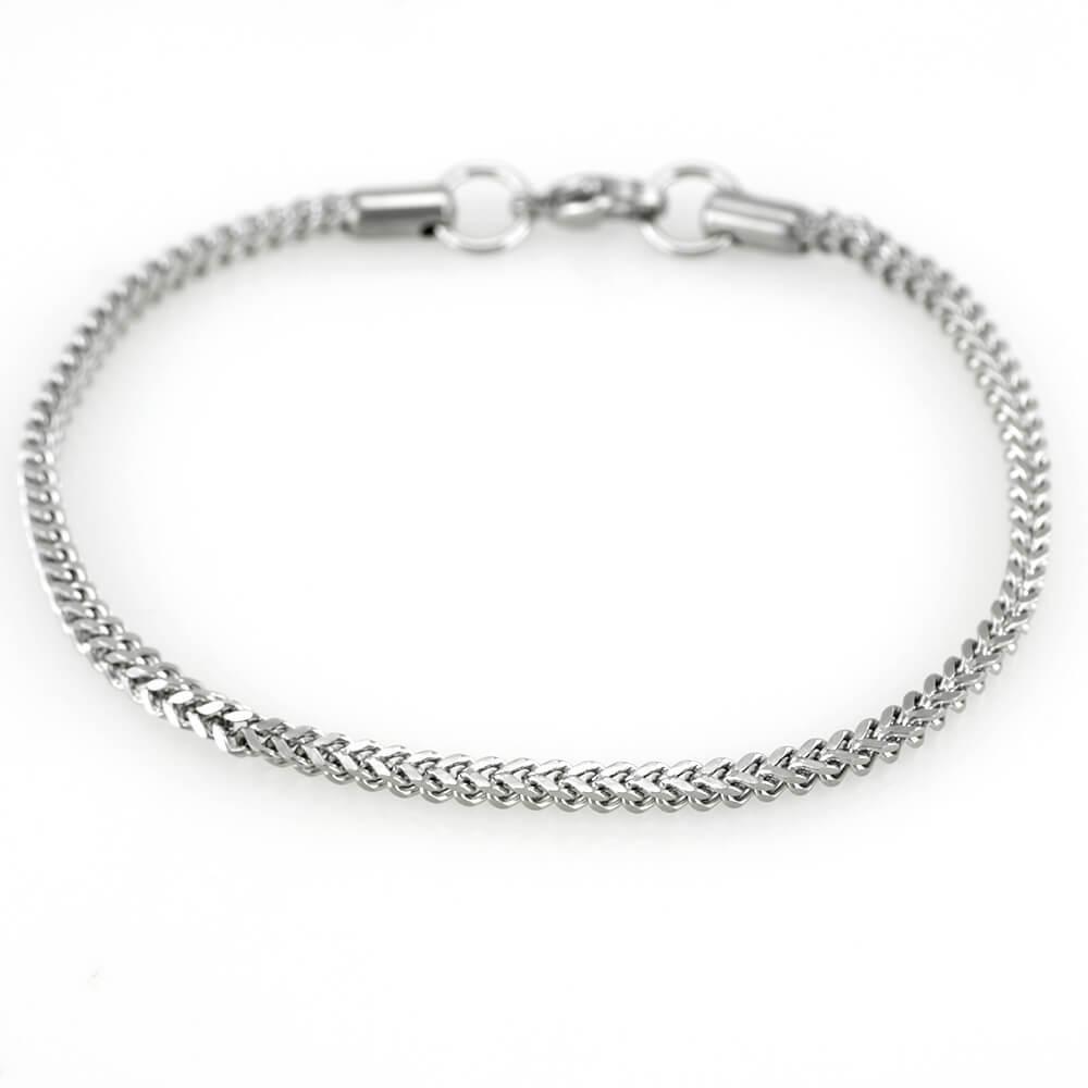 MPM Ocelový náramek z chirurgické oceli Bracelet 7611 - Silver (19cm)