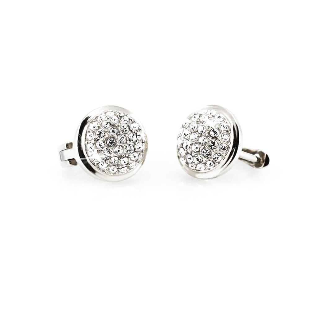 MPM Ocelové náušnice z chirurgické oceli Earrings 7698 - Silver