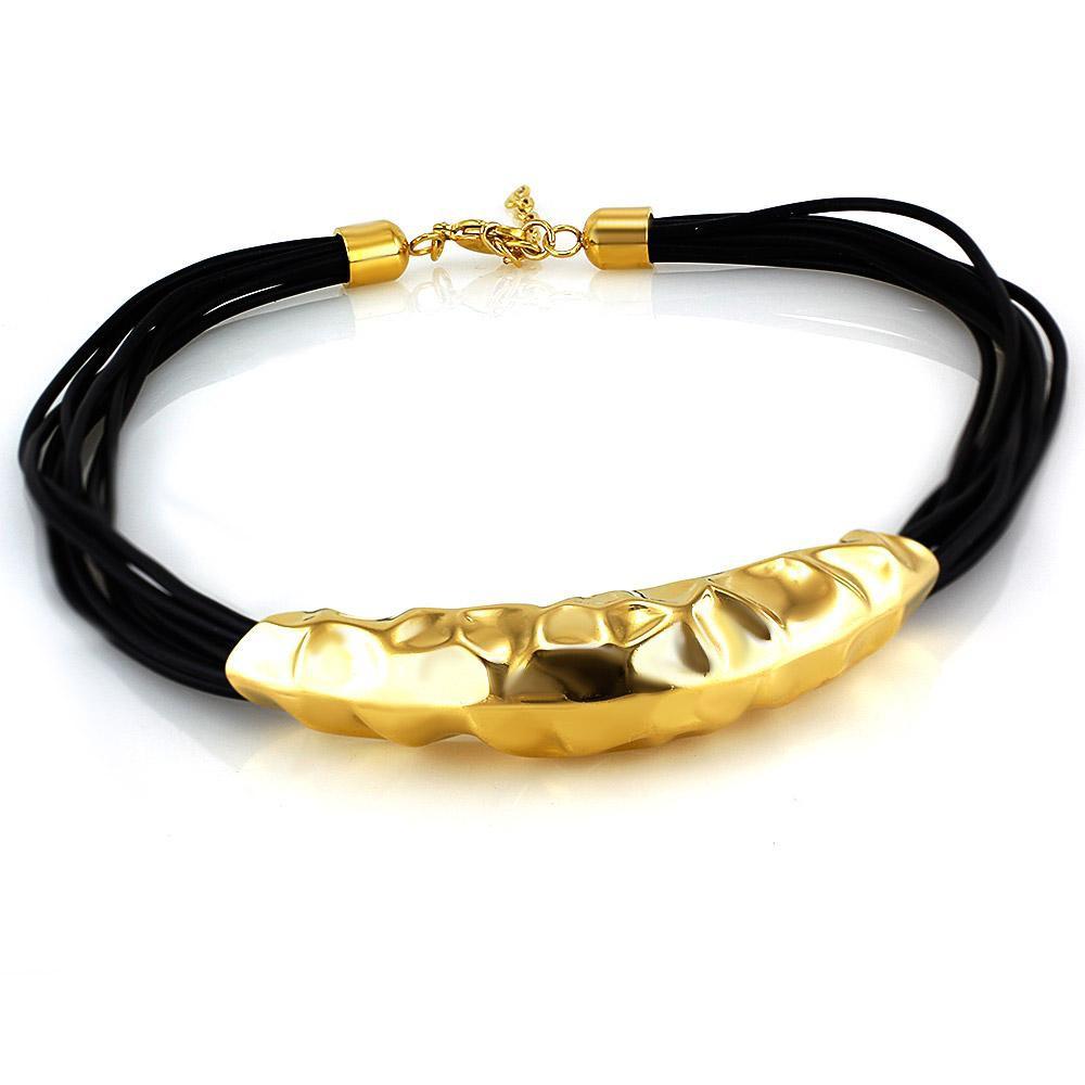 MPM Ocelový náhrdelník z chirurgické oceli Necklace 7603 - Gold