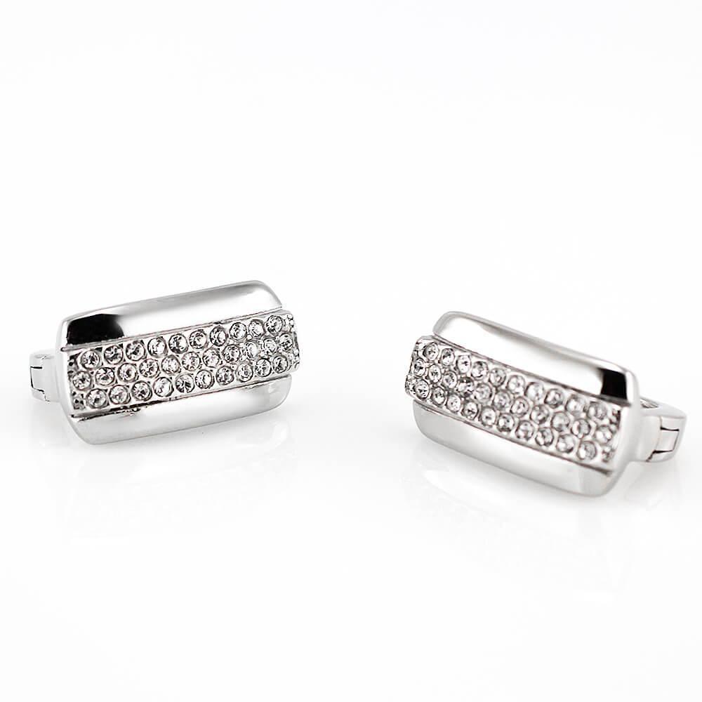 MPM Ocelové náušnice z chirurgické oceli Earrings 7759 - Silver